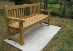 Kelvedon listening bench