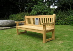 Listening bench in Saffron Walden