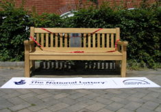 Listening bench in Great Dunmow