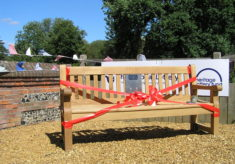 Listening bench in Great Waltham
