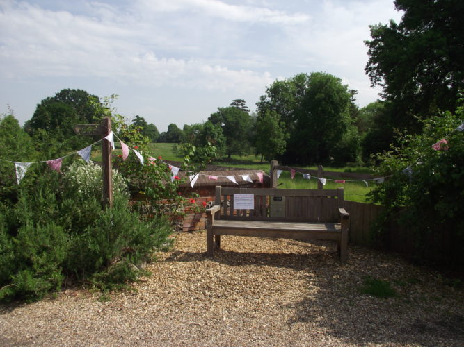 Great Waltham listening bench | Joanna Steel