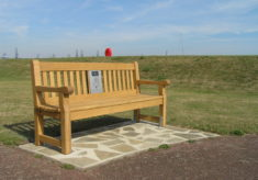 Listening bench in Harwich