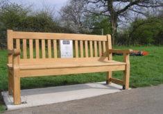Basildon listening bench