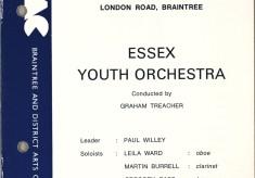 Essex Youth Orchestra Playing Verdi's Overture from 'La Forza del Destino', 1973