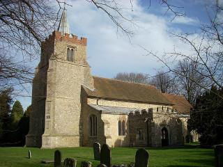 Image of Henham Churchyard taken during the daytime | Marco Chiesa