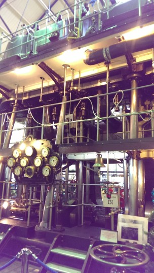 Pipes and dials on the Marshall Lilleshall beam pump | Stuart Bowditch