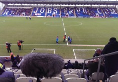 Colchester United vs Swindon Town (kick off), 2016