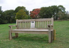 Essex Country Parks touring bench