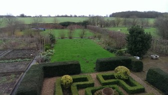 View of a walled garden in Bulmer Tye | Stuart Bowditch
