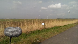 Wind turbines and grass on the Dengie | Stuart Bowditch