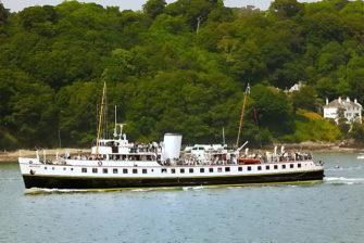 Photograph of MV Balmoral in the Menai Straits | Denis Egan