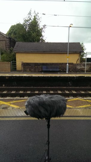 Empty platforms at Marks Tey station on a wet June afternoon. | Stuart Bowditch