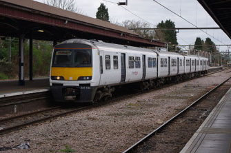 Photograph of train at platform | Joshua Brown
