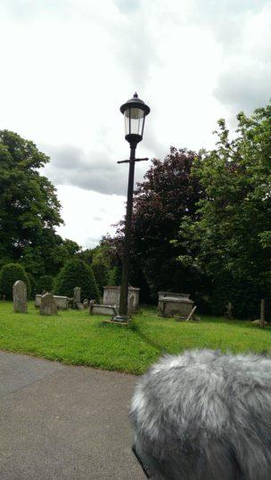 The graveyard of St. John the Baptist, Finchingfield.   Stuart Bowditch