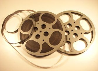 Photograph of 16mm film reel | Holger Ellgaard