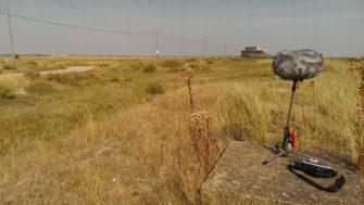 Recording the peaceful landscape at Lee-over-Sands | Stuart Bowditch
