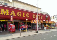 Magic City arcade, Clacton-on-Sea, 2016