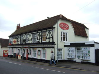 Photograph of front and side of Red Lion pub | JThomas