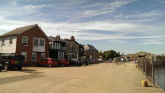 Buildings on Mistley Quay | Stuart Bowditch