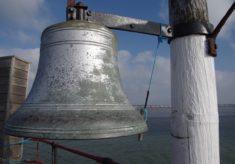 Southend Pier Head bell, 2016