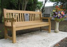 Galleywood Listening Bench