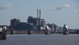Flood Barrier, Tate and Lyle 2 | The Dim Locator