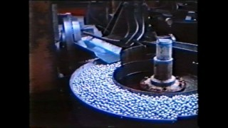 Still image of ball bearings on manufacturing line | NSK RHP