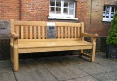 Harlow listening bench