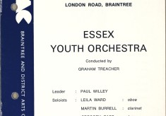 Essex Youth Orchestra Playing Verdi's Overture from 'La Forza del Destino', 1973