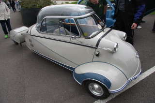 Image of Messerschmitt Bubble Car as described by the interviewee, | Brian Snelson