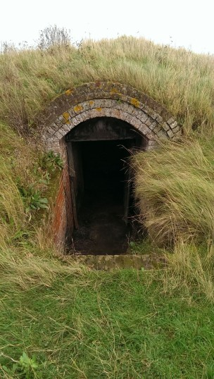 The door of the lime kiln at Beaumont Quay | Stuart Bowditch