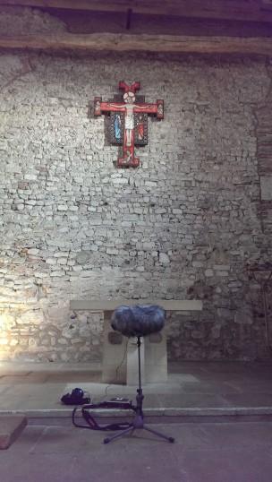 The altar of St.Peter's Chapel. | Stuart Bowditch