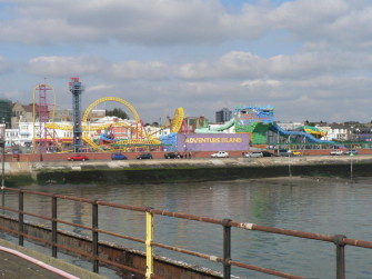 Photograph of Adventure Island taken from the pier | Chris Downer