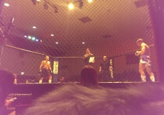 Mixed Martial Arts competition, Civic Hall, Grays, 2016