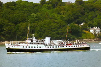 Photograph of MV Balmoral in the Menai Straits | Denis Egan