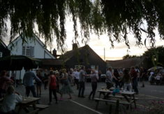 Barn Dance, Plough and Sail, Paglesham, 2016