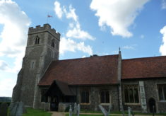 St. Christopher's Church, Willingale, 2016