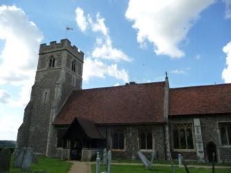 St.Christopher's Church, Willingale.   Stuart Bowditch