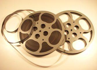 Photograph of 16mm film reel | Holger Ellgaard