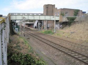 Photograph of Chalkwell Railway Station looking west | Nigel Thompson