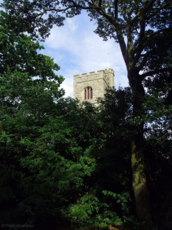 Leigh Library Gardens and St Clement's