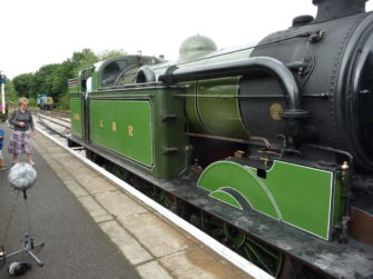 Steam Locomotive 1744 Class N7 at North Weald Station | Stuart Bowditch