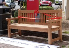 Clacton-on-Sea listening bench