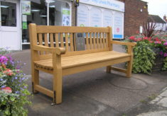 Coggeshall listening bench