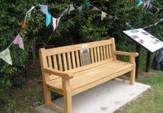 Clavering listening bench