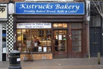 Picture of shop front of former Kistrucks Bakery | Andy Popperwell