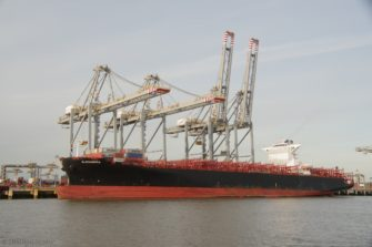 Alexandra at the newish London Gateway