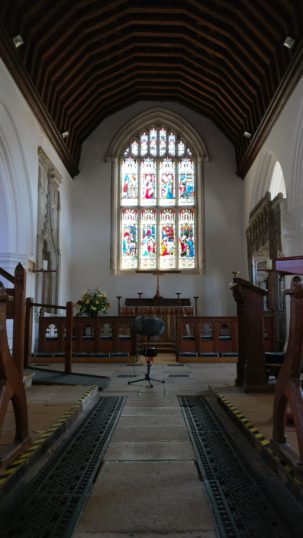 Inside St.Marys Church, Little Easton | Stuart Bowditch