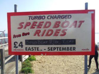 Speedboat ride barkers, 2018